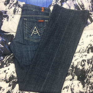 "🔥 7 for all Mankind ""A"" Pocket Jeans Size 28"